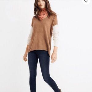 Madewell Two Tone Sweater